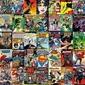 Dc comics classic covers - plakat