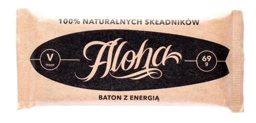 Aloha baton z energią 100 naturalnych składników 69g