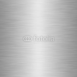 Plakat na papierze fotorealistycznym Olbrzymi arkusz szczotkowanej tekstury metalu