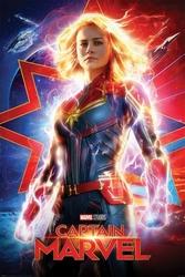 Captain marvel higher, further, faster - plakat