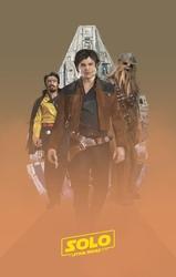 Star wars gwiezdne wojny solo finał - plakat premium wymiar do wyboru: 21x29,7 cm