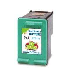 Tusz zamiennik 343 do hp c8766ee kolorowy - darmowa dostawa w 24h