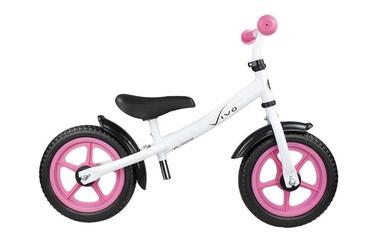 Rowerek biegowy vivo v4.0 12 eva white pink