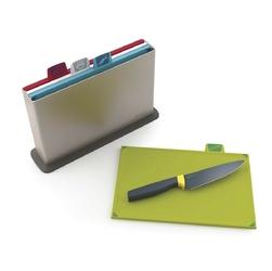 Zestaw desek do krojenia index + nóż szefa kuchni elevate joseph joseph