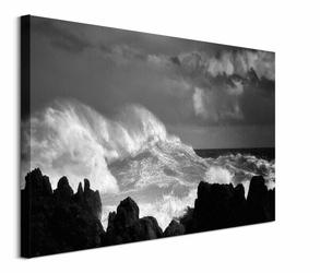 Oceans Rage - obraz na płótnie