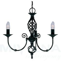 Zanzibar lampa wisząca 3 czarna