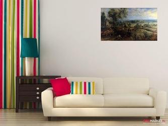 krajobraz z zamkiem steen - peter paul rubens; obraz - reprodukcja