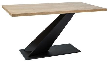 Stół ike 150x90 cm loft dąb