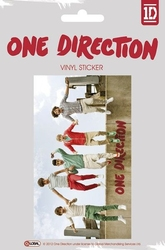 One direction jumping - naklejka