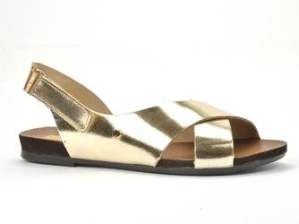 Sandały lemar 40141 bf. złoto