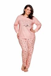 Piżama damska taro ela 714 dłr 2xl-3xl 20