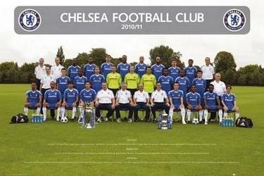 Chelsea team photo - plakat