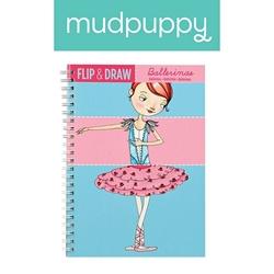 Mudpuppy zeszyt do rysowania potrójny baletnice