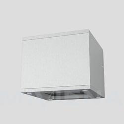 Bibi ścienna aluminium 230v gx53 7w