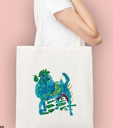 Kogut + pies. kosmos torba na zakupy naturalna universal