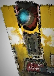 Polyamory - claptrap, borderlands - plakat wymiar do wyboru: 50x70 cm