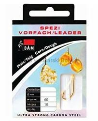 Przypon DAM Spezi Corn  Dough 60cm rozm. 16  0,12mm 10szt
