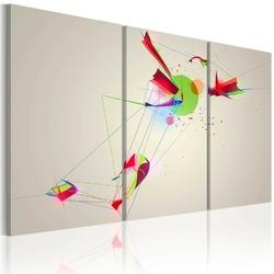 Obraz - kształty  kolory
