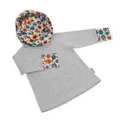 bluza z komino - kapturem cepelia 9298