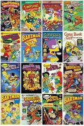 The Simpsons - Okładki Komiksów - plakat