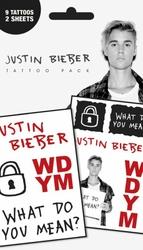 Justin Bieber What Do You Mean - tatuaże