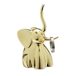 Umbra - stojak na pierścionki zoola słoń - mosiężny - mosiądz