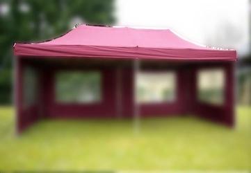 Dach do pawilonów 3x6 ogrodowych automatycznych - bordowy