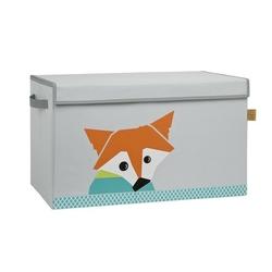 Pudełko zamykane na zabawki lassig wildlife - lis