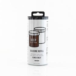 Zestaw uzupełniający do kopiowania penisa ciemny brąz 220g - clone-a-willy refill deep skin tone silicone