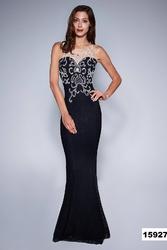 Soky soka  sukienka czarny 53002-1