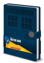 Doctor who tardis - notes a5
