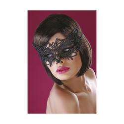 Koronkowa maska livia corsetti czarna