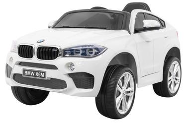 Samochód na akumulator bmw x6m biały + pilot