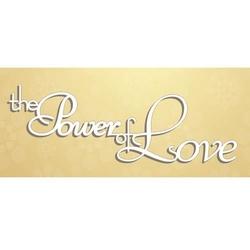 Dekoracyjny napis The Power of Love 02 - 02
