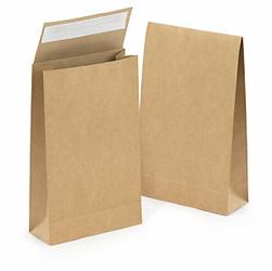 Torebka papierowa z samoprzylepnym zamknięciem w 30 z recyklingu