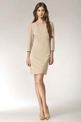 Sukienka barbarossa s39 beĺźowa