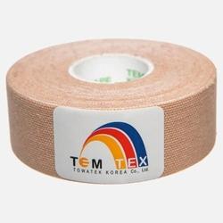 Temtex kinesiology tape 2,5cm x 5m beżowy pakowana po 2 sztuki