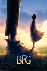 The BFG Bardzo Fajny Gigant - Steven Spielberg - plakat