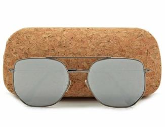 Okulary przeciwsłoneczne lustrzane pilotki aviator str-491