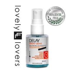 Sexshop - spray przedłużający stosunek - lovely lovers delay spray 50ml strong formula - online