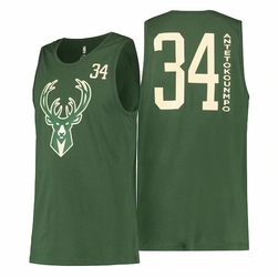 Koszulka NBA Milwaukee Bucks All Net Basic Tank - Giannis Antetokounmpo - EB7K2M1BBTJ - Milwaukee Bucks