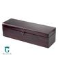 Skrzynka drewniana kuferek lakierowany 37x11x11 cm z możliwością grawerowania