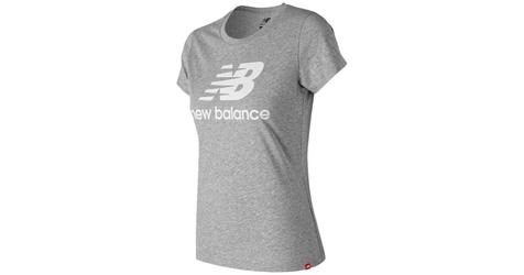 Koszulka new balance wt91546ag l szary