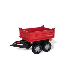 Rolly toys wielka przyczepa dwuosiowa czerwona