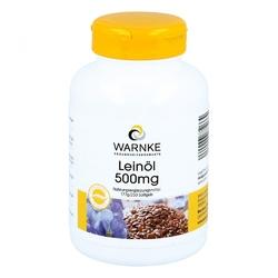 Olej lniany 500 mg kapsułki