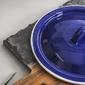 Pokrywa emaliowana 16 cm niebieski