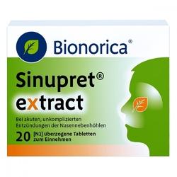 Sinupret extract tabletki powlekane
