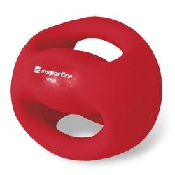 Piłka lekarska z uchwytami 6 kg grab - insportline - 6 kg