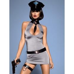 5-częściowy kostium policjantki obsessive