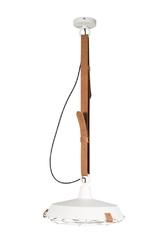 Zuiver :: lampa wisząca metalowa dek biała
